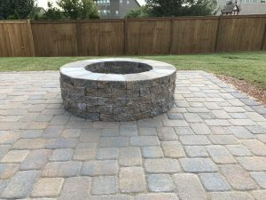 Outdoor Fire Pit in Greenville, South Carolina