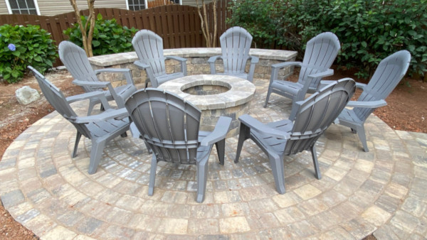 Outdoor Fire Pit, Greenville, SC