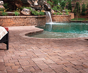 Brick Patio in Greenville, South Carolina