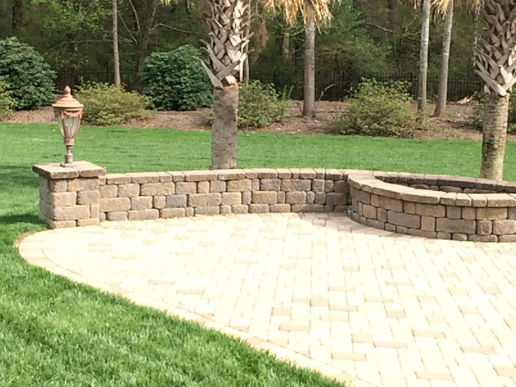 hardscaping greenville sc greenville pavers