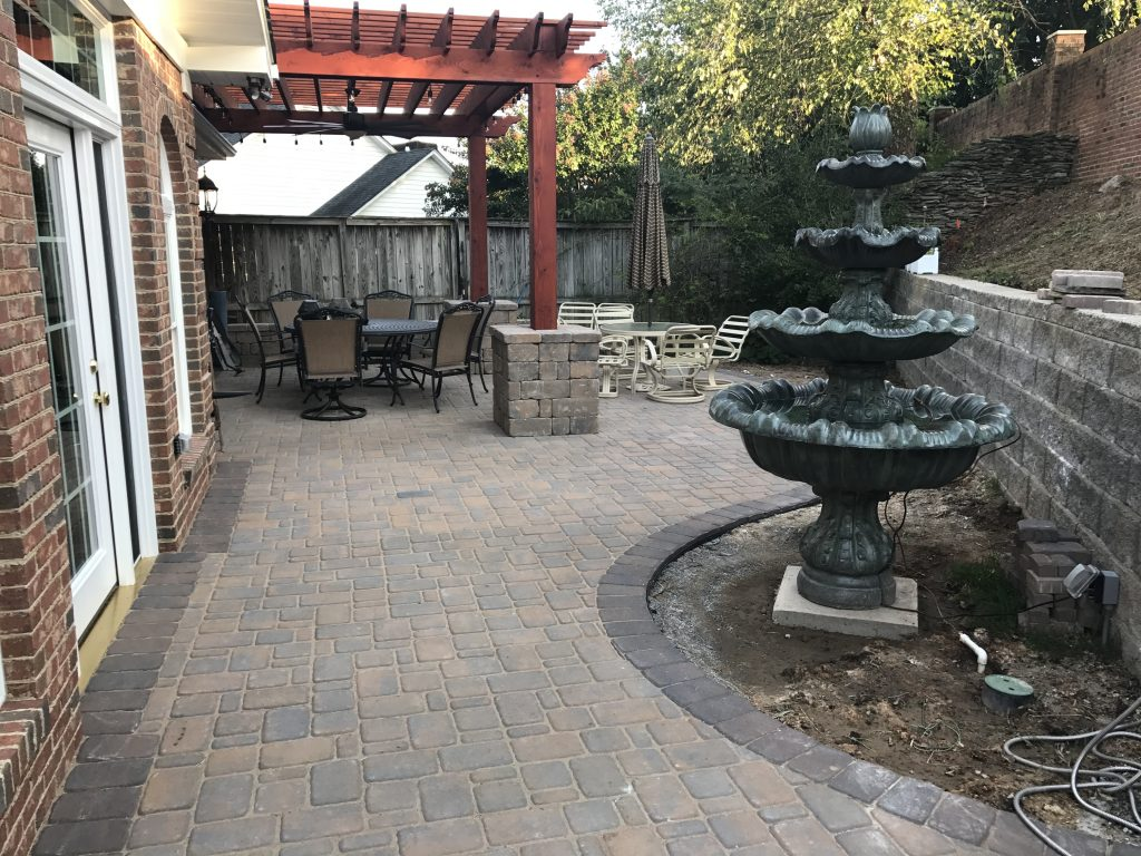 You Can Choose From A Number Of Outdoor Patio Options, Including Beautiful  Pavers, Concrete Patios With Custom ...