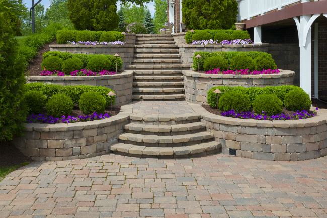 Conquer That Hilly Property with Retaining Walls