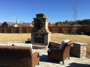 Outdoor Fireplace Greenville