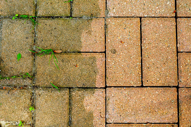 How to Properly Clean Brick Pavers