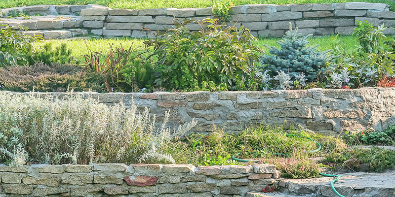 we can help you create a retaining wall