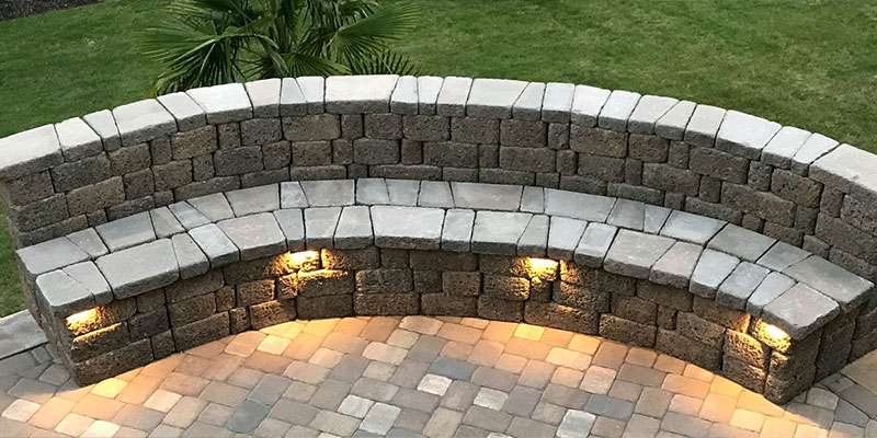 your landscaping with pavers.
